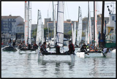 National Jeunes Catamarans 2014 / SRR Avril 2014